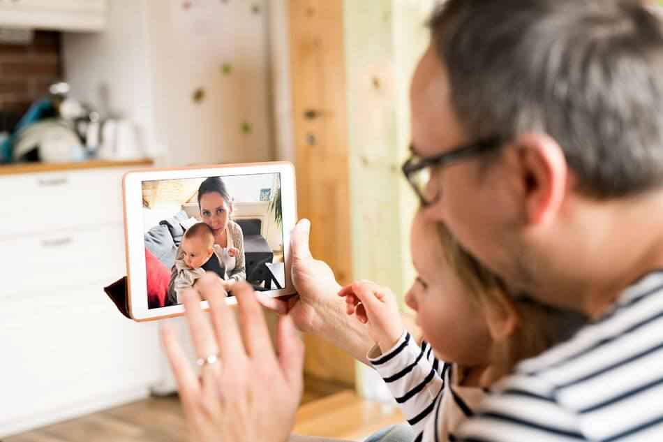father-and-child-video-chatting